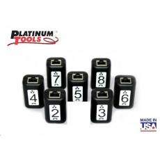 Platinum Tools TT208 - set 7ks přijímačů data/telefon (Rj-45, RJ-12) ID # 2-8 pro TNP700, detekce včetně testu zapojení