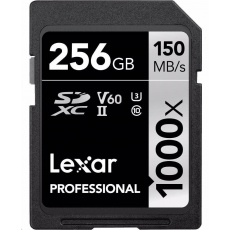 Lexar SDXC 256GB Pro 1000X
