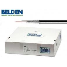 BELDEN H121 AL - koaxiální kabel, průměr 5mm, PE (venkovní), impedance 75 Ohm, černý, 100m