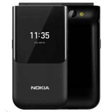 Nokia 2720 Flip, Dual SIM, véčko, Black 2019 - Bazar, po opravě, 100% funkční