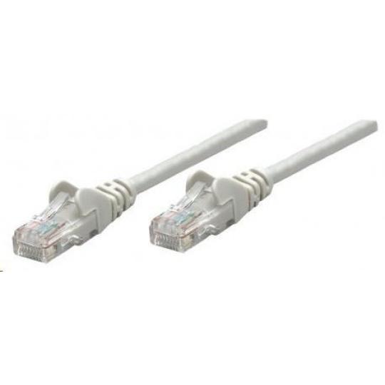 Intellinet patch kabel, Cat6 Certified, CU, UTP, PVC, RJ45, 7.5 m, šedý