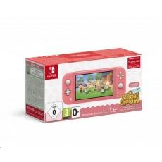 Nintendo Switch Lite Coral + ACNH + NSO 3 měsíce