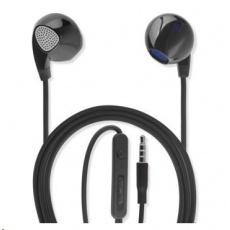 4smarts stereo sluchátka In-Ear 3,5 mm jack, černá