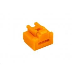 SMARTKEEPER Basic RJ45 Port Lock 10 - 1x klíč + 10x záslepka, oranžová