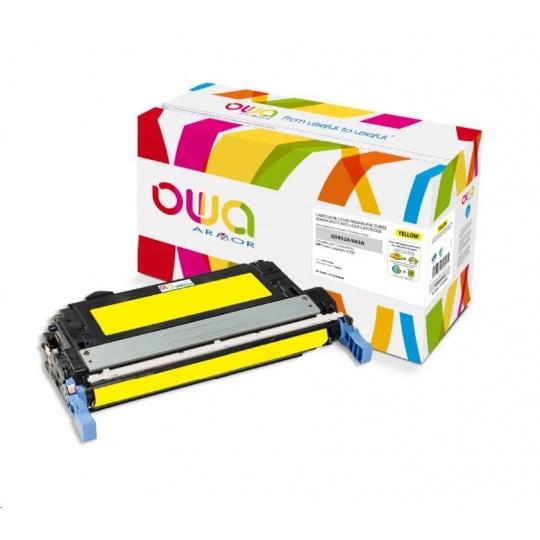 OWA Armor toner pro HP Color Laserjet 4700, 10000 Stran, Q5952A, žlutá/yellow