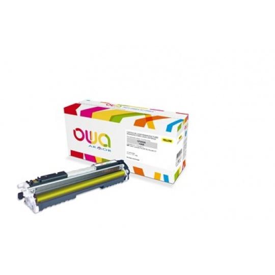 OWA Armor toner pro HP Color Laserjet Pro M176, M177, 1000 Stran, CF352A, žlutá/yellow