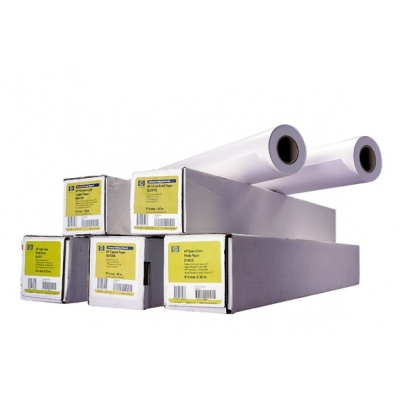 HP Bright White Inkjet Paper-914 mm x 45.7 m,  24 lb,  90 g/m2, C6036A