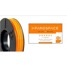 FILAMENT Panospace type: PLA -- 1,75mm, 1000 gram per roll - Oranžová