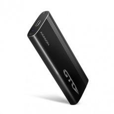 AXAGON EEM2-GTO, USB-C 3.2 Gen 2 - M.2 NVMe SSD kovový THIN OVAL box