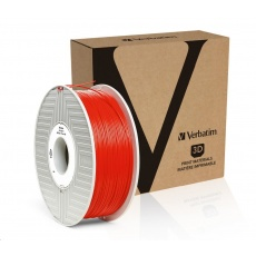 VERBATIM 3D Printer Filament ABS 1.75mm, 404m, 1kg red