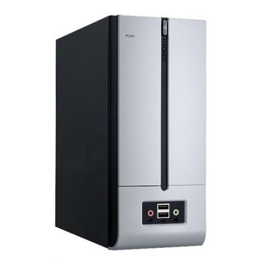 IN WIN skříň BM639, mini ITX, 180W 80+ Bronze / 8cm Fan / 2 x USB 3.0 / HD Audio / Black/Silver