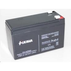Baterie - FUKAWA FW 7,2-12 F1U (12V/7,2 Ah - Faston 187), konektor - 4.8mm, životnost 5let