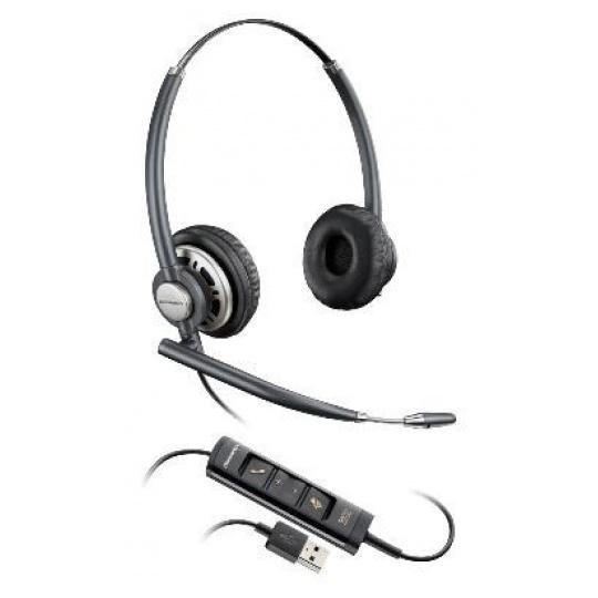 PLANTRONICS náhlavní souprava EncorePro HW725, USB, stereo