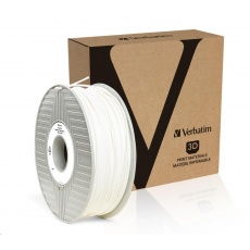 VERBATIM 3D Printer Filament PRIMALLOY 2.85mm, 72m, 500g white