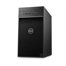 DELL PC Precision 3650/Core i7-10700K/16GB/512GB SSD + 2TB/Quadro P2200/TPM/DVD RW/Kb/Mouse/460W/vPro/3Y ProSpt