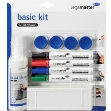 Legamaster Sada Board BASIC Kit - sada pro tabule - popisovače, stěrka, čistič, magnety
