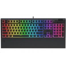SPC Gear klávesnice GK650K Omnis Pudding Edition / herní / mechanická / Kailh Blue / RGB / US layout / černá