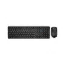 DELL Bezdrôtová klávesnica a myš – KM636 - slovenčina (QWERTZ) – čierna
