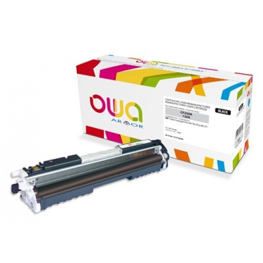 OWA Armor toner pro HP Color Laserjet Pro M176, M177, 1300 Stran, CF350A, černá/black