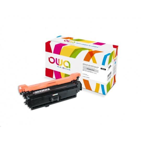 OWA Armor toner pro HP Color Laserjet Ese 500 M551, M575, 5500 Stran, CE400A, černá/black