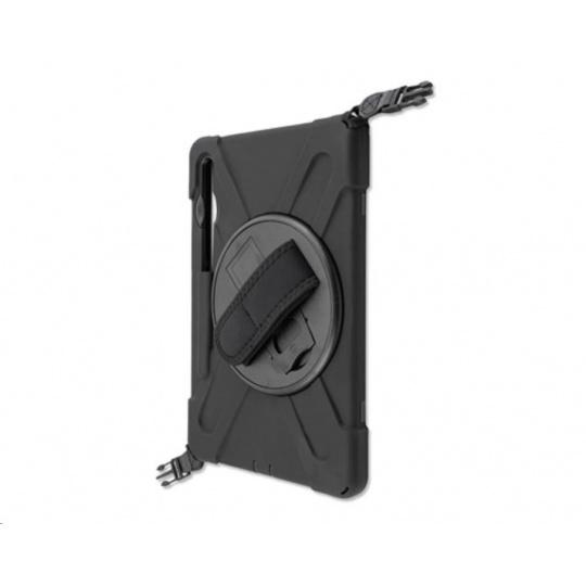 4smarts odolný zadní kryt s páskem pro Samsung Galaxy TAB S6 (T860), černá