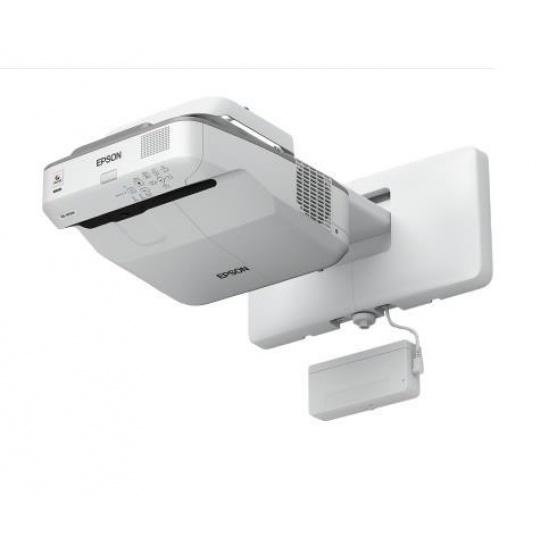 EPSON projektor EB-695Wi - 1280x800, 3500ANSI, HDMI, VGA, SHORT, 5 LET ZÁRUKA + kamera Sandberg za 1 Kč