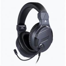 Bigben herní sluchátka s mikrofonem - titan