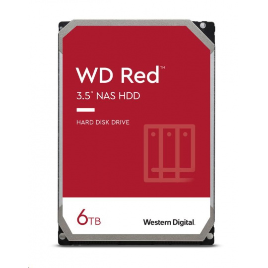 WD RED NAS WD60EFAX 6TB SATAIII/600 256MB cache, SMR